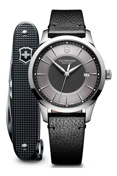Reloj Victorinox Alliance 241804.1 Con Navaja Suiza Pioneer