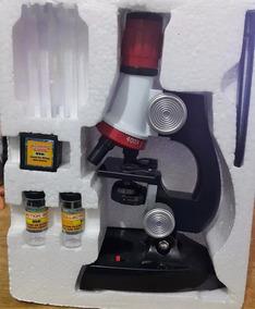 Microscópio De Crianças Óptico 100x 400x 1200x - Infantil