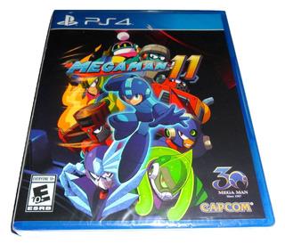 Mega Man Megaman 11 - Playstation 4 Ps4 (envio Gratis)