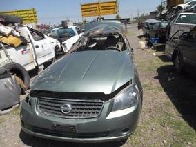 Nissan Altima 2.5 S Aa Ee Cd Tela At En Partes.