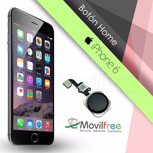 Imagen 1 de 3 de Cambio De Botón Home iPhone 6
