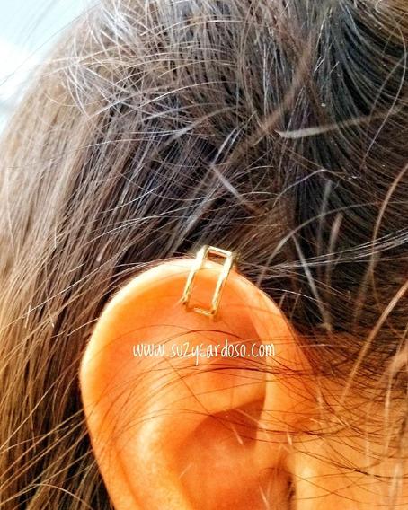 Piercing Falso Orelha Ouro 18k
