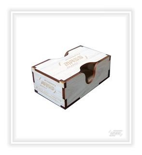 100 Cajas Para Tarjetas Personales En Mdf Personalizada