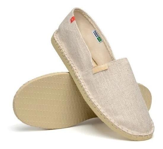 Alpargatas Havaianas Premium Bege Original Sandália Chinelo