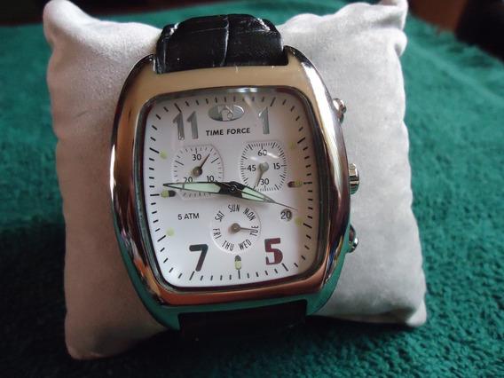Time Force Reloj Con Cronometro Vintage Retro