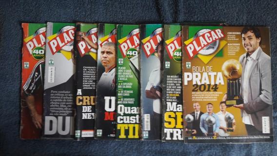 Lote 8 Revistas Placar Original Leia O Anuncio\