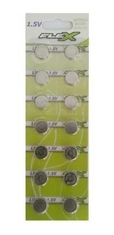 Bateria Moeda Lr54 - Ag10 - Lr1130 1.5v Cartela C/ 14 Peças!