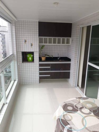 Apartamento À Venda, 99 M² Por R$ 490.000,00 - Ocian - Praia Grande/sp - Ap0324