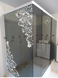 Adesivos Parede Box Blindex Espelho Decoração