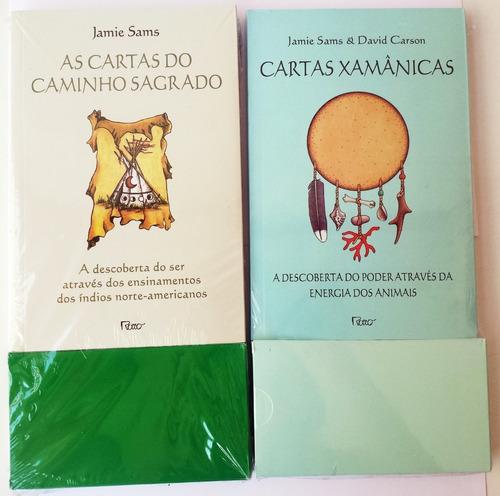 Cartas Xamanicas  E Cartas Do Caminho Sagrado Kit