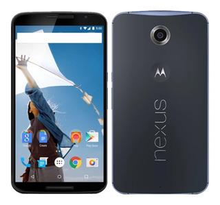 Raro Motorola Nexus 6 Google Azul 32/3gb +lacrado+original