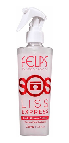 Sos Liss Express Felps 230ml Fluido Thermo + Brinde