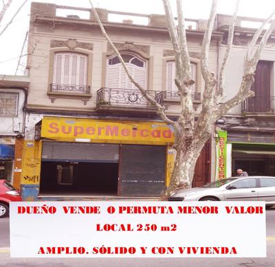 Local 250 M2, A 8 Cuadras Del Mam Y 10 Del Palacio Legislat