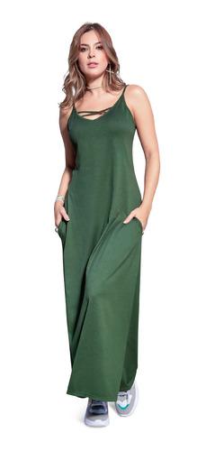 Vestido Largo Juvenil Femenino Atypical 69333