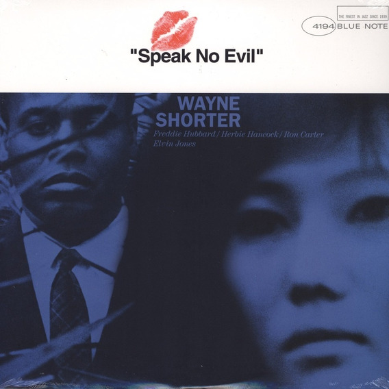 Wayne Shorter Speak No Evil Cd Nuevo Importado Original