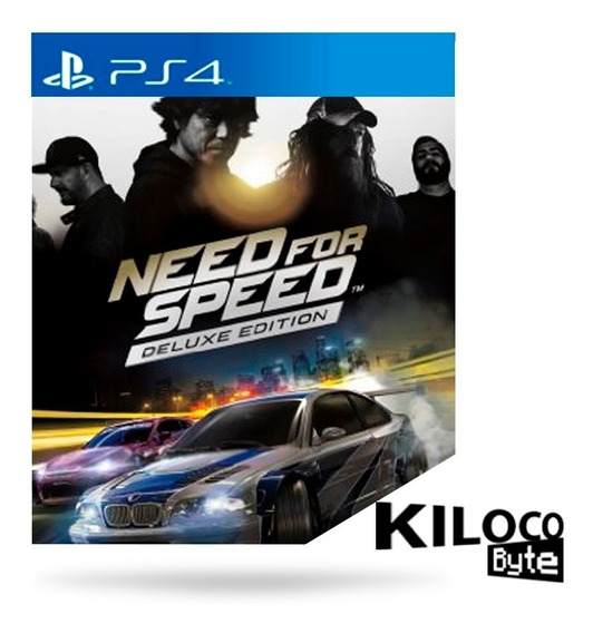 Need For Speed Deluxe Edition Ps4 - Jogo Original 100%