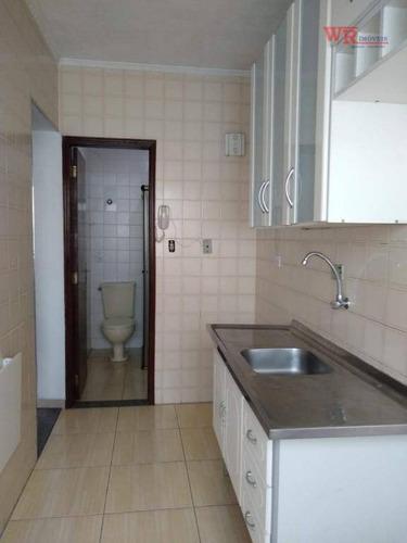 Kitnet Com 1 Dormitório À Venda, 36 M² Por R$ 165.000,00 - Dos Casa - São Bernardo Do Campo/sp - Kn0078