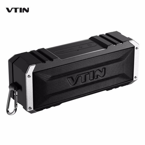 Mini Caixa Som Portátil Speaker Vtin 20w Bluetooth Res. Água