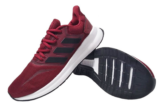Zapatillas adidas Runfalcon Roja Running Hombre Eezap