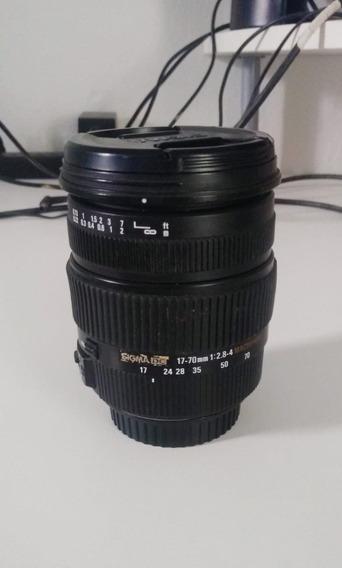 Lente Sigma Dc 17-70mm F/2.8-4 Os Macro Hsm P/canon