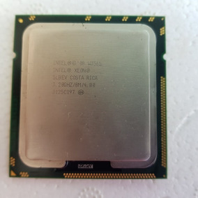 Intel Xeon W3565 Quad Core 3.20ghz/8mb/4.8 Gt/s/lga1366