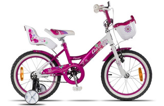 Bicicleta Infantil Aurorita / Flower 16