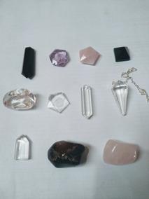 11 Pedra Naturais P/coleção Artesanato Colar Orgonite