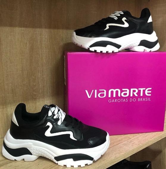 Tênis Via Marte Chuncky Shoes Preto