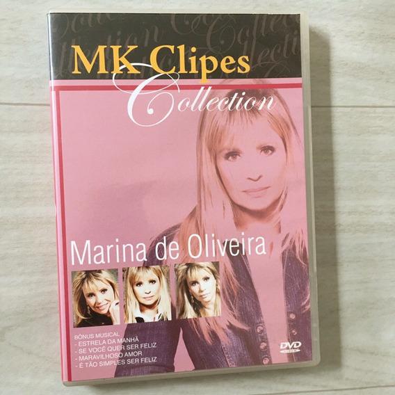 Dvd Marina De Oliveira - Mk Clipes Collection
