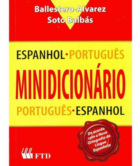 Minidicionario Espanhol/portugues Ftd