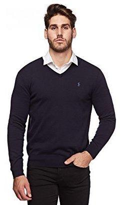 Polo Ralph Lauren Mens Pima Cotton V-neck Sweater