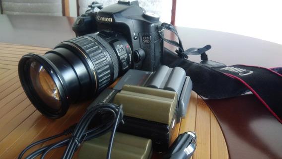 Camera Canon 50d + Lente Canon 28-135mm Ultrassonic (usados)