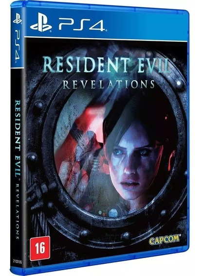 Resident Evil Revelations Ps4 (lacrado!!!)