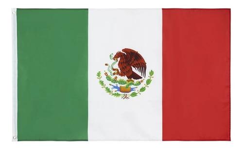 Imagen 1 de 6 de Bandera De México 90x150 Cms