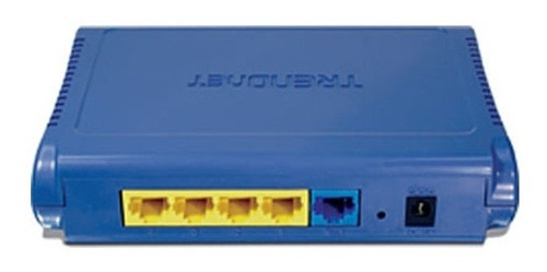 Router Trendnet Tw100-s4w1ca De Banda Ancha De 4 Puertos