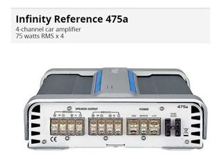 Planta Infinity Amplificador Subwofer Mono 4 Canales 80 Vrd