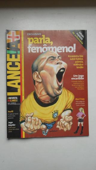 Revista Lance Nº 53 - Set/2001 - Especial Ronaldo Fenômeno