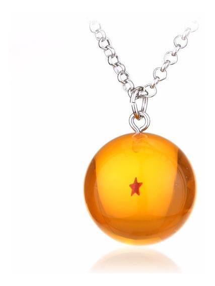 Colar Cordão Dragon Ball Z Goku Esfera Do Dragão 1 Estrela
