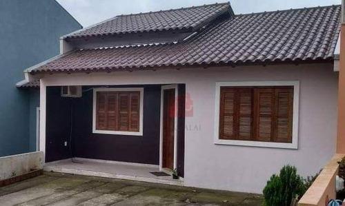 Casa Com 2 Dormitórios À Venda, 110 M² Por R$ 263.000,00 - Belém Velho - Porto Alegre/rs - Ca0492