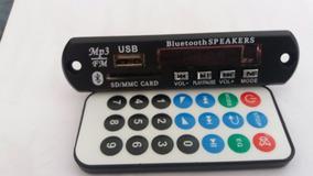 4 Módulos Mp3 Bluetooth, Fm, Sd, Usb E Controle Remoto