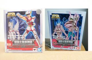 Cloth Myth V1 Revival Shun Andromeda + Seiya Pegasus Bandai