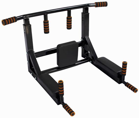 Barra Dominadas 8 En 1 Pared Gym 450kg Biceps Uso Rudo