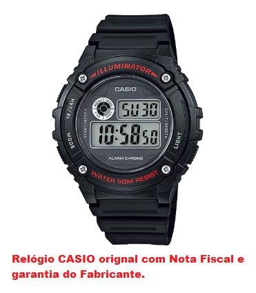 Relógio De Pulso Casio Masculino W-216h-1avdf-sc