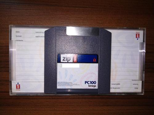 Imagem 1 de 1 de Disquetes Zip Disk 100mb Iomega
