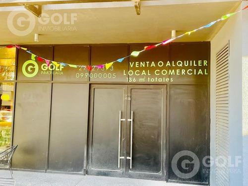 Local Comercial En Punta Carretas , Zona Golf A Estrenar