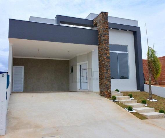 Casa À Venda, 165 M² Por R$ 700.000,00 - Condomínio Sunlake - Sorocaba/sp - Ca2093
