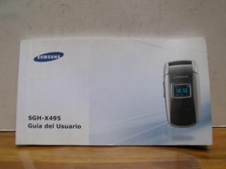 Manual Original Celular Samsung Sgh-x495