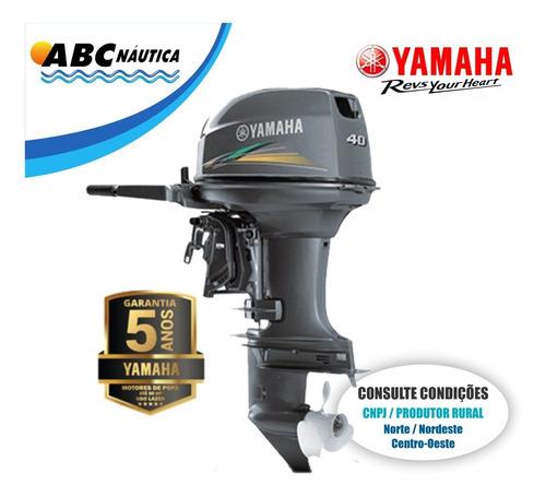 Motor De Popa Yamaha 40hp  Leia Anúncio