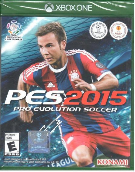 Pes 2015 Pro Evoltuion Soccer Xbox One Mídia Física Lacrado