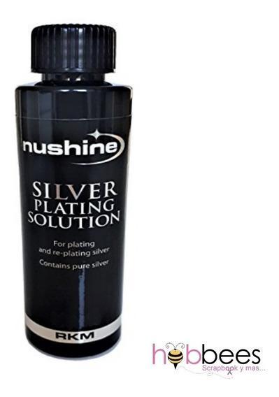 Nushine Solución Chapado Plata Plateador Importado Joyería